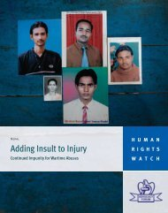 Adding Insult to Injury: Continued Impunity for ... - Advocacy Forum