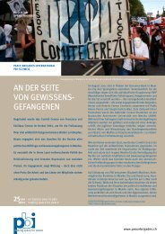An der Seite von Gewissensgefangenen - Peace Brigades ...