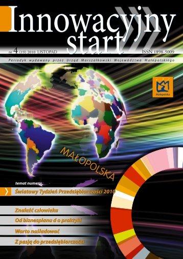 NR 4/2010 - Regionalny Ośrodek Informacji Patentowej BG AGH