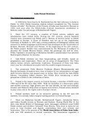 Poland Jan 2012 - Ministry of External Affairs