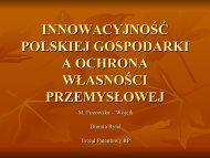 Innowacyjność polskiej gospodarki a ohrona własności przemysłowej