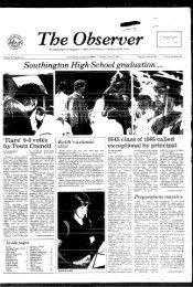 Southington High School graduation - Southington Library and ...
