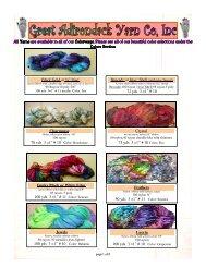 ribbon - Great Adirondack Yarn