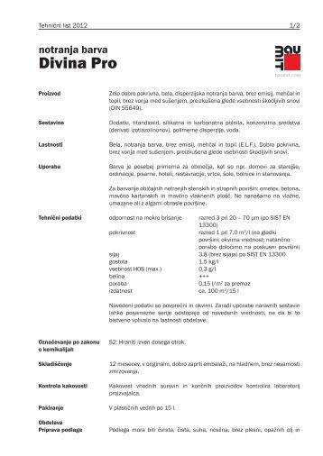 Tehnični list - Baumit