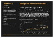Strategic risk index quarterly review Q2 2013