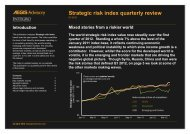 Strategic risk index quarterly review Q1 2012