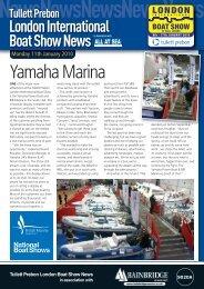 Yamaha Marina - London Boat Show