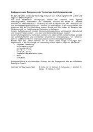 Ergänzungen und Änderungen - Weißeritzgymnasium
