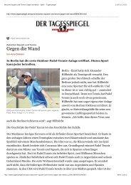 Zwischen Squash und Tennis: Gegen die Wand - Sport ... - Padel