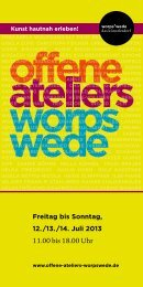 Offene Ateliers Worpswede