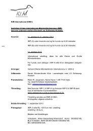 Se mere her - Dansk Münsterländer Klub