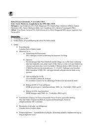 Referat af bestyrelsesmøde 09.11.2012 - Dansk Münsterländer Klub
