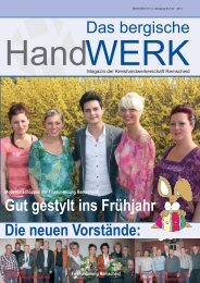 Ausgabe 02 I 2011 - und Heizungstechnik Remscheid