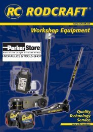Workshop Equipment - Longin Parkerstore