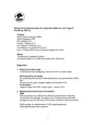 Referat af bestyrelsesmøde 25.09.2009 - Dansk Münsterländer Klub