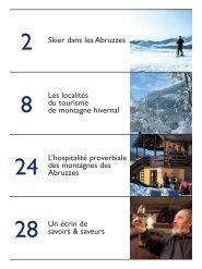 Skier dans les Abruzzes Les localités du tourisme de ... - Pepe Mare