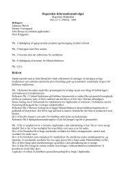 Referat fra informationsudvalget - Dansk Münsterländer Klub