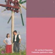 CD- und Buch-Präsentation Predstavitev zgoščenke in knjige