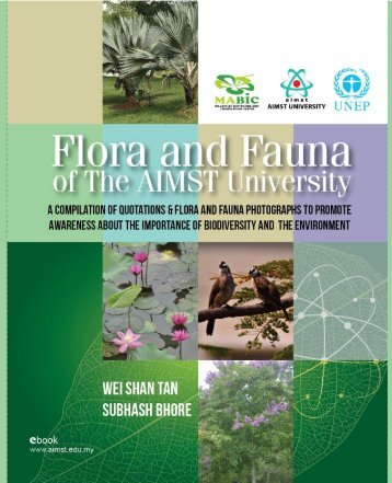 Flora and Fauna of the AIMST University
