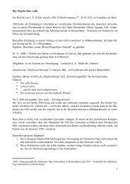 Bericht quo vadis - awa-info.eu