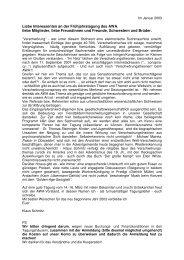 Vorwort/Programm - awa-info.eu