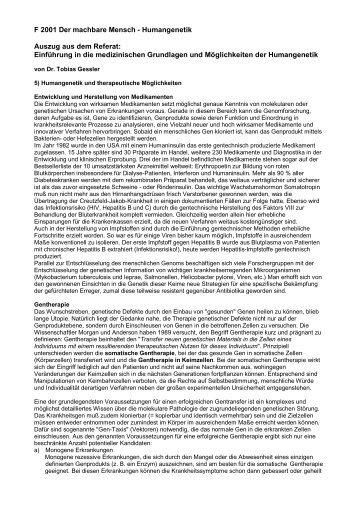 Referat: Einführung medizinische Grundlagen - awa-info.eu