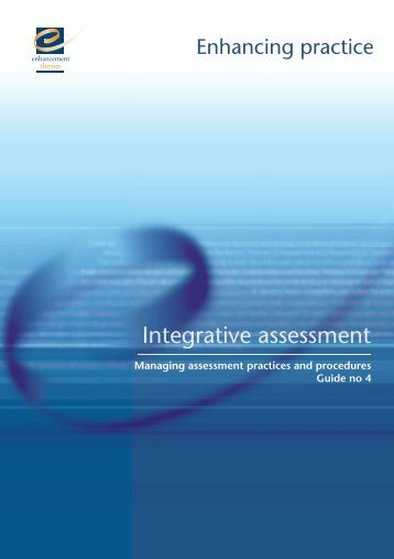 Managing Assessment Practices and Procedures - the ...