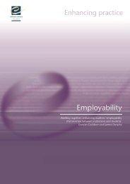 enhancing student employability - the Enhancement Themes website