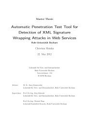 Automatic Penetration Test Tool for Detection of XML Signature ...
