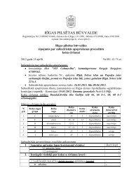 Ziņojums - Rīgas pilsētas būvvalde