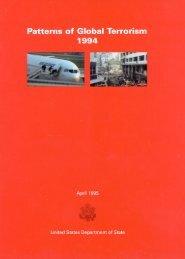Patterns of International Terrorism in 1994 - Higgins