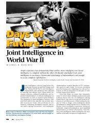 Days of Future Past - Higgins Counterterrorism Research Center
