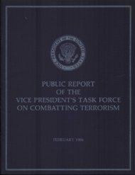 Public Report of the Vice President's Task Force on Combating ...