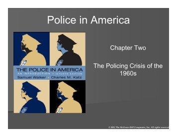 Police in America - WSU Vancouver Directory