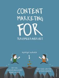Content Marketing for Turismeerhvervet