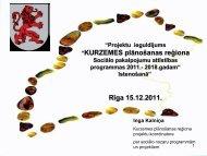 Kurzemes plānošanas reģiona Sociālo pakalpojumu attīstības ...