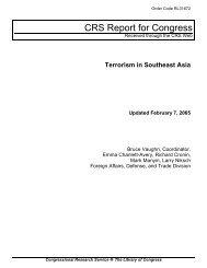 Terrorism in Southeast Asia - Higgins Counterterrorism Research ...