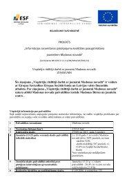 Ziņojums - Sabiedrības integrācijas fonds