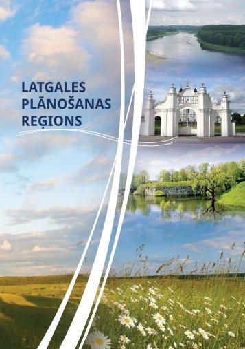 """Brošūra """"Latgales plānošanas reģions"""""""