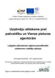 Latgales plānošanas reģiona jaundibināto uzņēmumu vadītāju ...