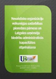 NVO veiksmīgas sadarbības pieredzes pārnese un Latgales ...