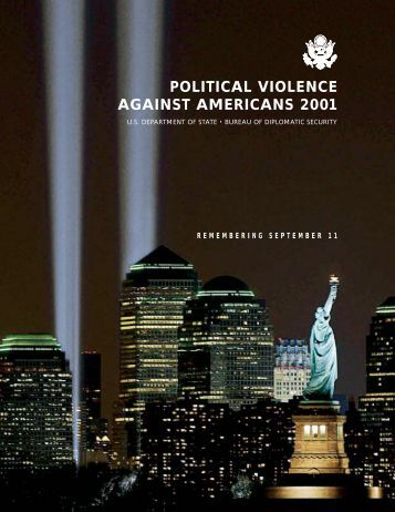 Political Violence Against Americans: 2001 - US Department of State