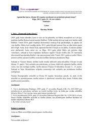 Roma III regulas noteikumi un praktiskā piemērošana