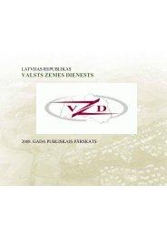 Valsts zemes dienesta 2008.gada publiskais pārskats (doc.)