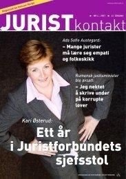 Juristkontakt 4 - 2007