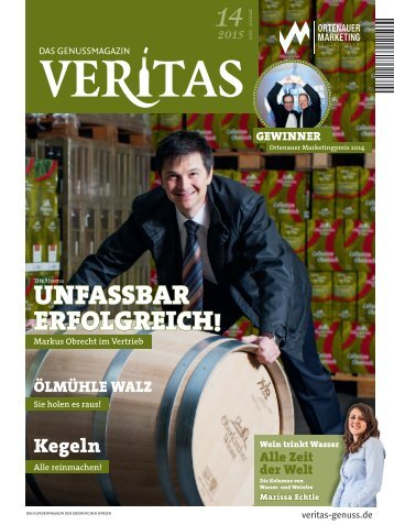 VERITAS - Das Genussmagazin / Ausgabe - 14-2015