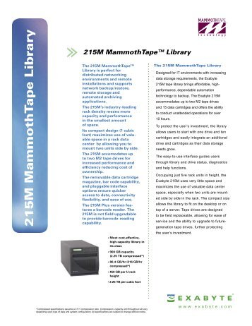Exabyte 230D Library Drivers for Windows Download