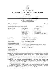 Protokols Nr. 11 - Babītes novads