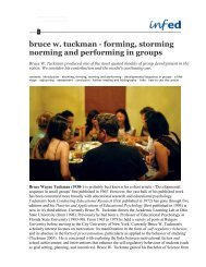 bruce w. tuckman - forming, storming norming and performing in ...