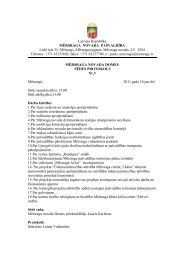 Sēdes protokols Nr.3 (18.01.2011) - Mērsraga pagasta padome
